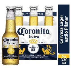 Cerveza Long Neck Six Pack Corona