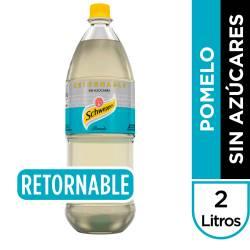 Gaseosa Pomelo sin Azúcar Retornable Schweppes x 2 Lt.
