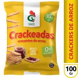 Galletitas de Arroz Crackeadas Gallo Snacks x 100 g.