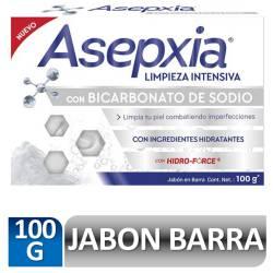 Jabón de Tocador con Bicarbonato de Sodio Asepxia x 100 g.