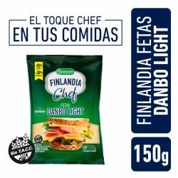 Queso Danbo Light Feteado Finlandia Chef x 150 g.