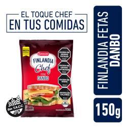 Queso Danbo Feteado Finlandia Chef x 150 g.