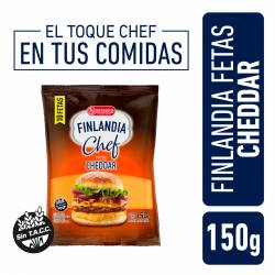 Queso Cheddar Feteado Finlandia Chef x 150 g.