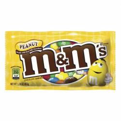 Confites Maní con Chocolate M&M x 49 g.