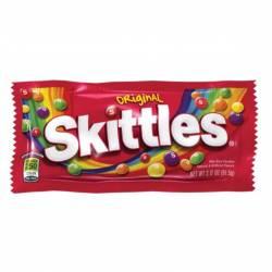 Caramelos Confitados Skittles Frutales Surtidos x 61 g.