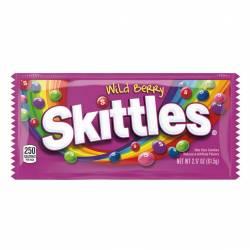 Caramelos Confitados Skittles Wild Berries x 61 g.