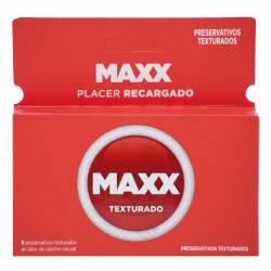 Preservativo Maxx Texturado x 6 un.