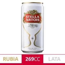 Cerveza Stella Artois Lata x 269 cc.