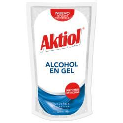 Alcohol en Gel Aktiol Doy Pack x 220 cc.