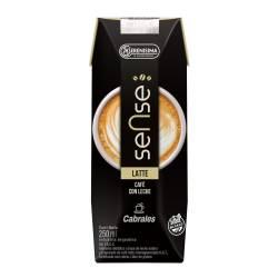 Bebida Láctea Sense Café Latte x 250 cc.