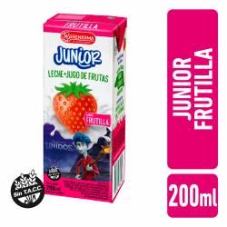 Bebida Láctea UAT La Serenísima Junior Frutilla x 200 cc.
