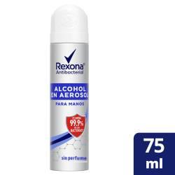 Alcohol en Aerosol Rexona x 75 cc.