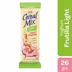 Cereal en barra light Yogur Frutilla Cereal Mix x 26 g.