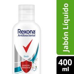 Jabón Líquido para Manos Antibacterial Rexona Fresh x 400 cc.