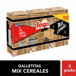 Galletitas Mix Cereal Fargo x 3 un. 435 g.