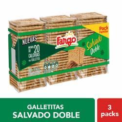 Galletitas Salvado Doble Fargo x 3 un. 435 g.