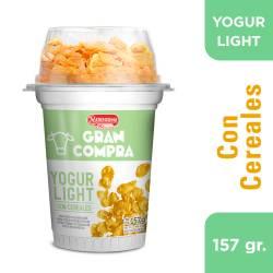 Yogur Parcialmente Descremado Gran Compra con Cereales x 159 g.