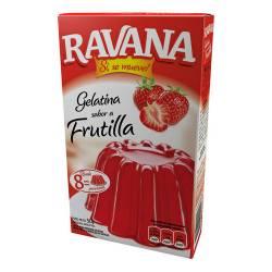 Gelatina en Polvo Frutilla Ravana x 50 g.