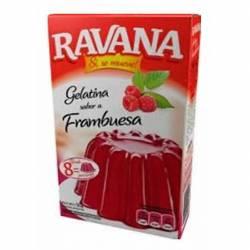 Gelatina en Polvo Frambuesa Ravana x 50 g.