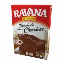 Polvo para Preparar Bizcochuelo Ravana Chocolate x 540 g.
