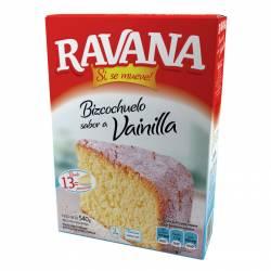 Polvo para Preparar Bizcochuelo Ravana Vainilla x 540 g.