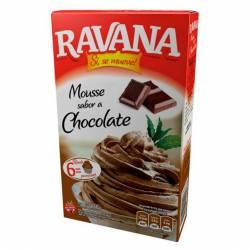 Polvo para Preparar Mousse Ravana Chocolate x 100 g.