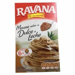 Polvo para Preparar Mousse Ravana Dulce de Leche x 100 g.