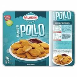 Nuggets de Pollo Congelados Paladini x 420 g.