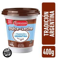 Dulce de Leche La Serenísima Tradición Argentina x 400 g.