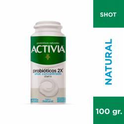Yogur con Probióticos Activia Shot Concentrado x 100 g.