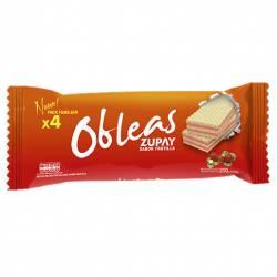 Obleas Dulces Zupay Frutilla x 200 g.