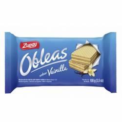 Obleas Dulces Zupay Vainilla x 100 g.