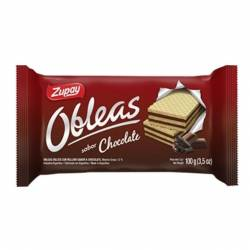 Obleas Dulces Zupay Chocolate x 100 g.