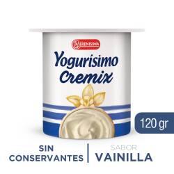 Yogur Entero Cremix Yogurísimo Vainilla x 120 g.