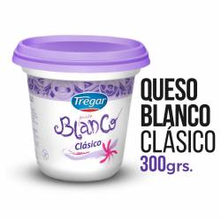 Queso Blanco Clásico Tregar x 300 g.