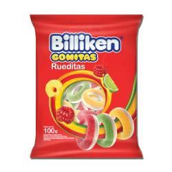 Pastillas de Goma Billiken Rueditas x 100 g.