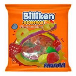 Pastillas de Goma Billiken Rodonditas x 800 g.