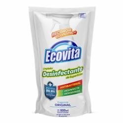 Limpiador Desinfectante Antibacterial Ecovita Doy Pack x 800 cc.