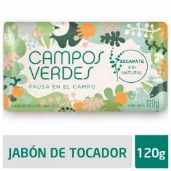 Jabón Tocador Pausa en el Campo Campos Verdes x 120 g.