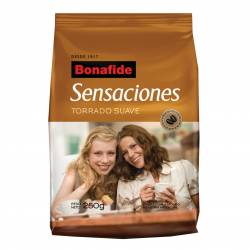 Café Molido Suave Sensaciones Bonafide x 250 g.