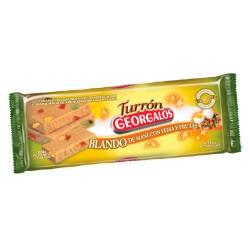 Turrón Blando Maní c/Yema y Fruta Georgalos x 120 g.