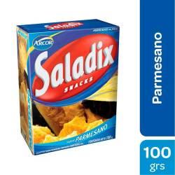 Galletitas sabor Parmesano Saladix x 100 g.