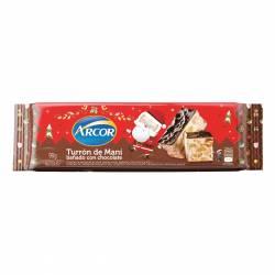 Turrón de Maní c/Chocolate Arcor x 90 g.