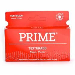 Preservativos Texturado Prime x 6 un.