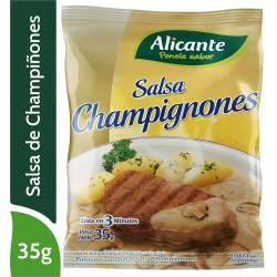 Polvo preparar Salsa Champignones Alicante x 35 g.
