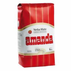 Yerba Mate c/Palo Amanda x 1 Kg.