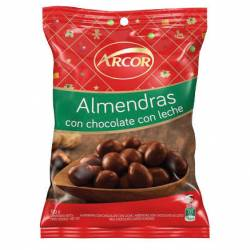 Almendras Bañadas c/Chocolate Arcor x 100 g.