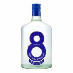Licor de Anís Dulce Azul 8 Hermanos x 1 Lt.
