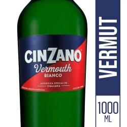Vermouth Bianco Cinzano x 1 Lt.