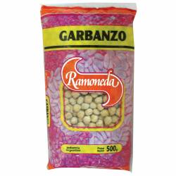 Garbanzos Secos Ramoneda x 500 g.